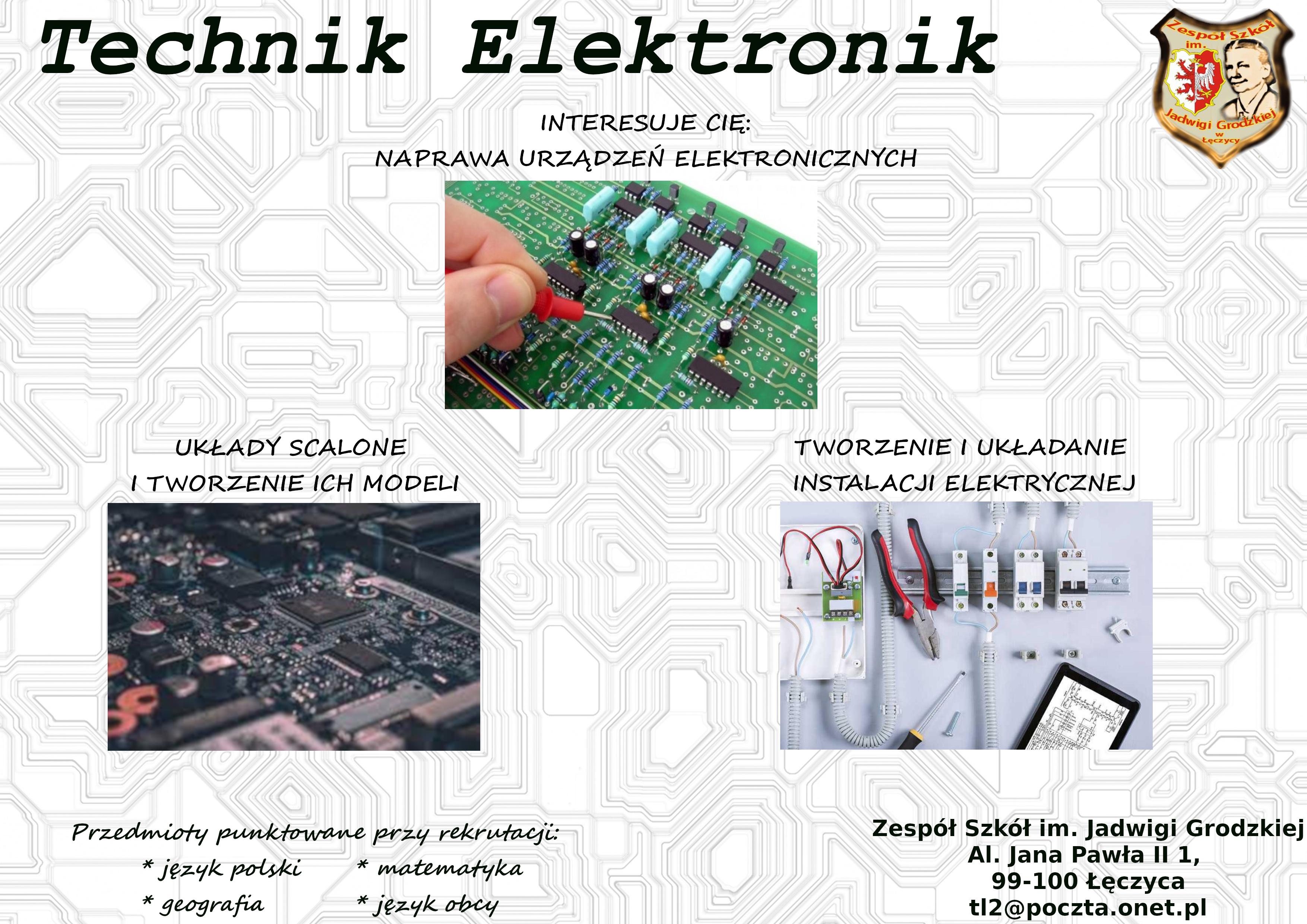plakat elektronik